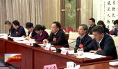 宁夏代表团举行全体会议审议全国人大常委会工作报告