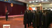 宁夏高院举行宪法宣誓仪式暨书画摄影微电影展-2017年12月4日