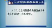 2017年宁夏接到各类食品药品投诉举报10879件-2018年2月10日