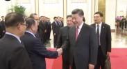 [央视新闻]习近平同朝鲜劳动党委员长金正恩举行会谈