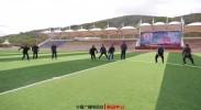 备战第九届少数民族传统体育运动会