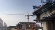 中卫南站黄河大桥在建工程2