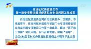 自治区纪委监委公布第一批专项整治漠视侵害群众利益问题工作成果-191207