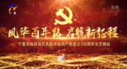 宁夏回族自治区庆祝中国共产党成立100周年文艺晚会