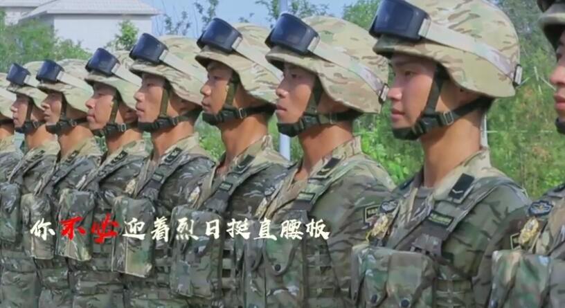 微视频|只因你是一名军人