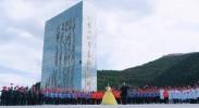 固原以红色为主题的快闪唱响《我和我的祖国》献礼新中国成立70周年