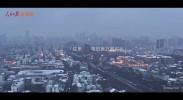武汉最新航拍:雪过天晴