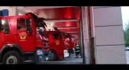 石嘴山市消防救援支队开展夜间实战拉练