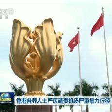 [视频]香港各界人士严厉谴责机场严重暴力行径