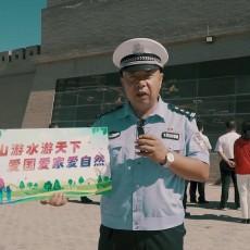 文明旅游志愿者鸿胜警官