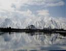 布达拉宫雪景美如画
