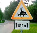 让人一头雾水的德国路标