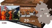 安徽淮南一煤矿发生事故初步估计20余人被困