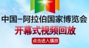 2013中阿博览会开幕式视频回放