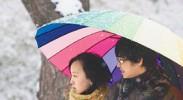 三月飞雪源于冷空气势力强大