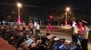 银川交警飓风行动查扣各类摩托车2006辆