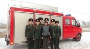 爱心接力十五年 惠农消防大队与抗美援朝老战士陈家利