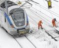 瑞典大雪导致数千旅客滞留
