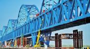 银西高铁跨黄河特大桥稳步推进