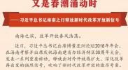 又是春潮涌动时——习近平总书记海南之行释放新时代改革开放新信号