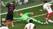 丹麦打入本届最快进球,克罗地亚点杀进八强