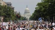 美多地举行700多场集会 抗议特朗普政府移民政策