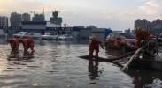 暴雨致银川西夏区多处积水 消防紧急救援