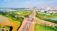 银川城东又一条景观路通车