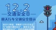 全国交通安全日,雨天行车交通安全提示