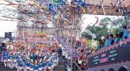 澳门举办国际幻彩大巡游喜迎回归十九周年