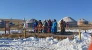 内蒙古锡林郭勒草原祈福迎新年