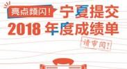 2019宁夏两会:一张图向您报告2018年度宁夏成绩单
