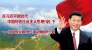 在习近平新时代中国特色社会主义思想指引下——追梦伟大新时代  建设美丽新宁夏