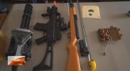 银川海关破获首例百支以上走私仿真枪支案件查获涉嫌走私枪支114支
