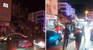 土耳其发生6.8级地震 已致14死57伤多栋建筑倒塌