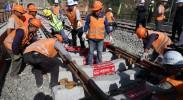重磅好消息!银西高铁全线铺轨完成