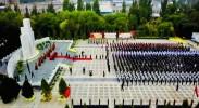 宁夏各界隆重举行向人民英雄敬献花篮仪式 陈润儿咸辉崔波等参加