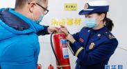 宁夏银川:消防检查 迎接新春