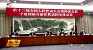 宁夏代表团审议全国人大常委会工作报告 陈润儿 咸辉等发言