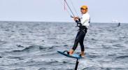 宁夏运动员陈思蓉获得十四运风筝水翼板女子场地赛第五名