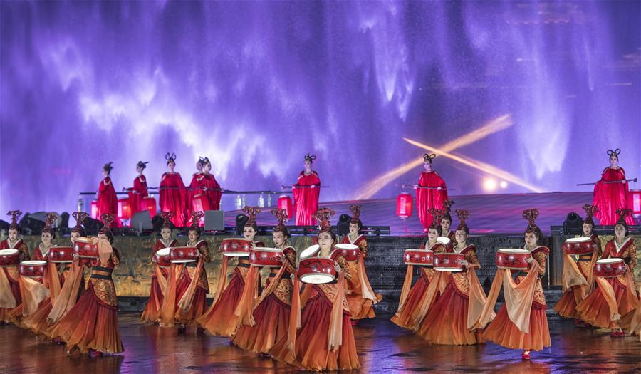 (文化)(4)大型水上实景剧《天汉传奇》在汉中演出