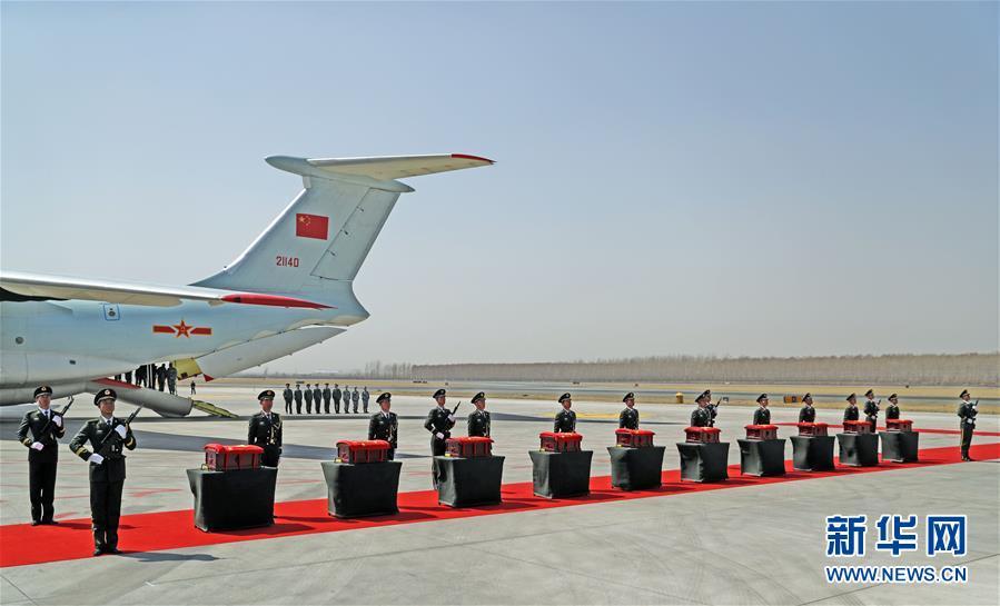 (图文互动)(5)第六批在韩中国人民志愿军烈士遗骸回国