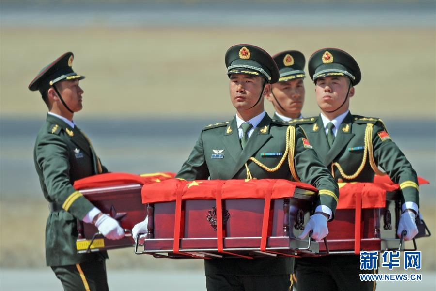 (图文互动)(6)第六批在韩中国人民志愿军烈士遗骸回国