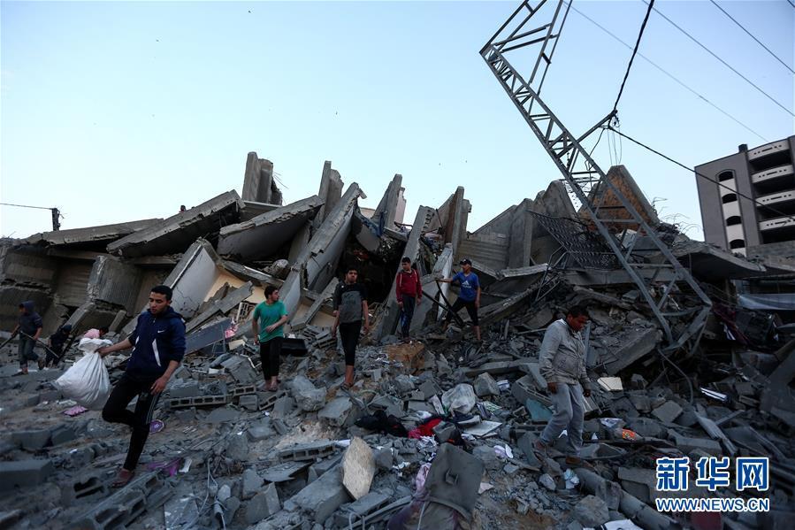 (国际)(2)巴以冲突升级已致20多人丧生逾200人受伤