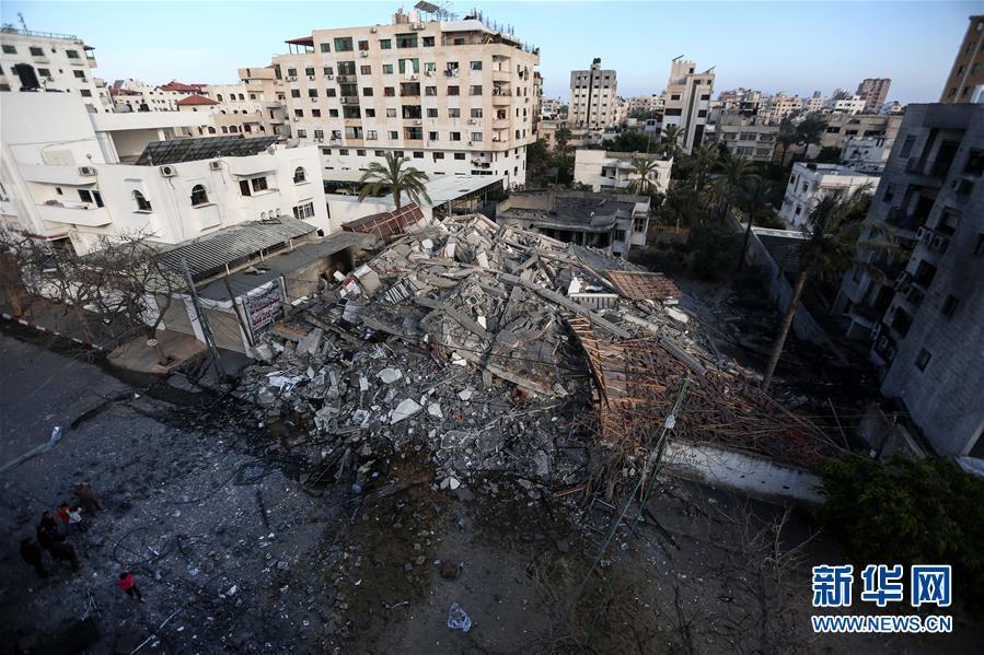 """(国际)(7)巴勒斯坦总统谴责以色列对加沙地带""""侵略升级"""""""