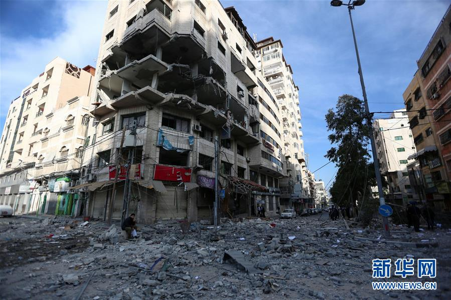 """(国际)(5)巴勒斯坦总统谴责以色列对加沙地带""""侵略升级"""""""