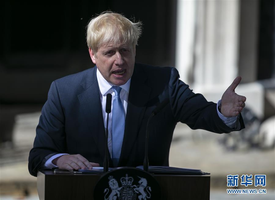 (国际)(4)鲍里斯·约翰逊正式接任英国首相