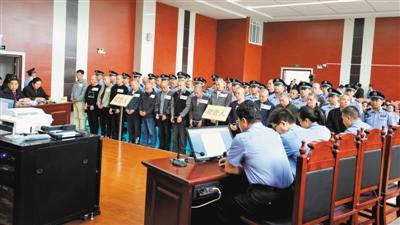 <p>    庭审宣判现场。                            (图片由彭阳县法院提供)</p>