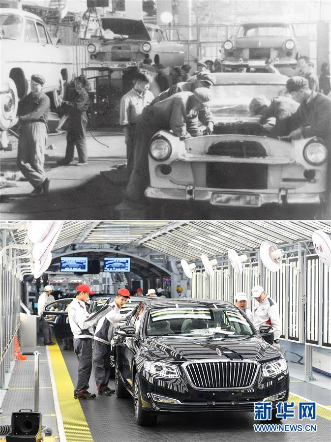 (新华全媒头条·图文互动)(14)天翻地覆慨而慷——从庆祝中华人民共和国成立70周年大型成就展看新中国光辉历程