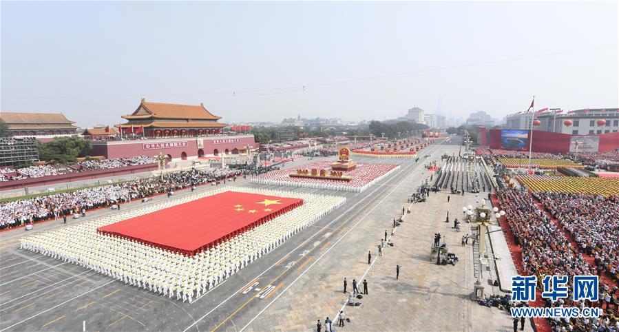 (新华全媒头条·图文互动)(3)凝聚爱国主义的磅礴力量!——新中国成立70周年盛典启示录